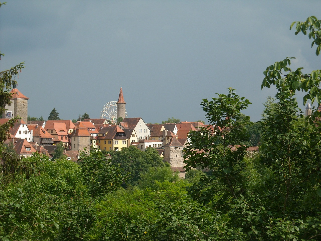 Stadtansicht Rothenburg